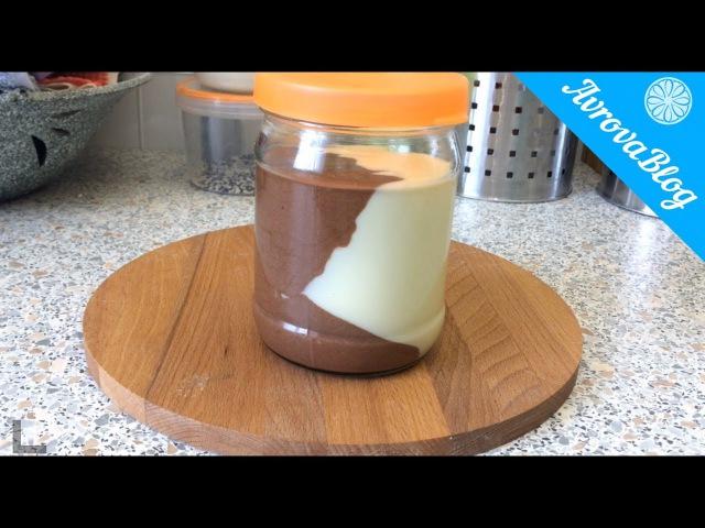 Молочно шоколадная паста в домашних условиях