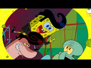 Спанч Боб (Sponge Bob) Акулы против спрутов