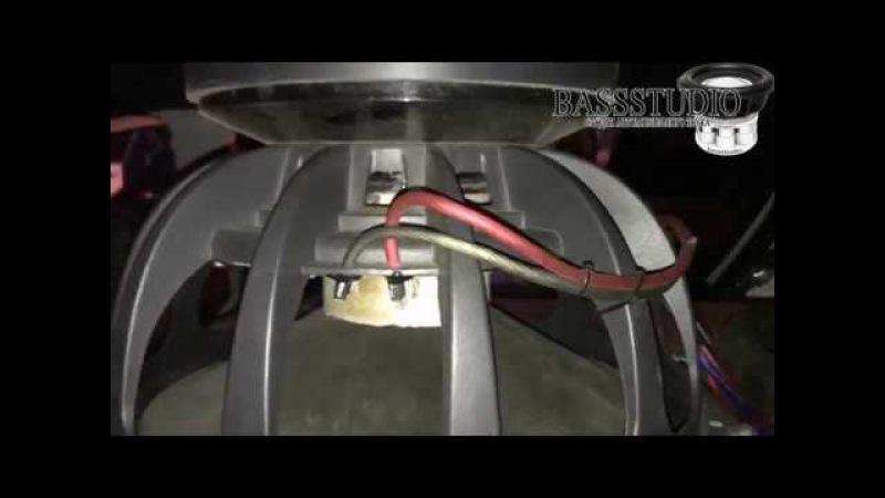Самый мощный сабвуфер на феррите Duo Pridecaraudio subwoofers S518 in Opel Astra coil 5'