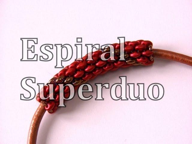Abalorios DIY - Tecnica de Espiral con Superduo