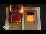Của gỗ chống cháy sử dụng gioăng chống cháy