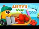 Lifty's shop 🛒eğitici çizgifilm Türkçe izle. Lifty kiraz 🍒satıyor! LeoJunior serisi