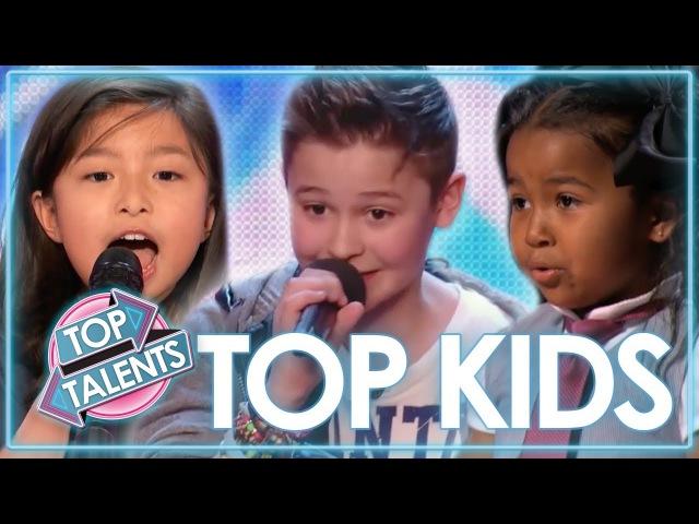 TOP Kids Singing Auditions | Celine Tam, Heavenly Joy MORE! | Top Talents