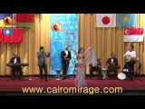 CAIRO MIRAGE-2017 GALA OPENING SHOW STAR BELLYDANCER NATA FARI