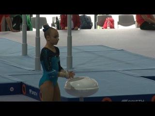 Artistics gymnastics, vault - EYOF GYŐR 2017