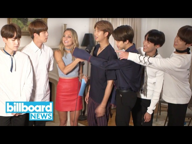 BTS Reacts to Jin's 'Third Member From the Left' Viral Moment | Billboard News
