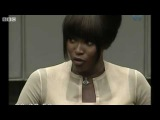Naomi Campbell Testifies in Hague
