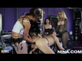 FemDom-Slave- Strap-on Nina Hartley - Lesson #250 - Nina Hartley and Friends Dominate a Man  Squirt, Lesbian, gay, big ass, i