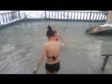 Сміливі дівчата або купання на Водохреща)