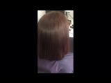 Мастер: os_popova (Попова Ольга). Кератиновое выпрямление волос для Алены.