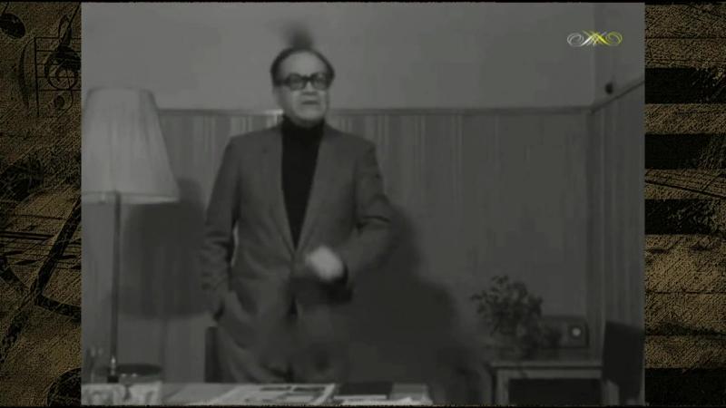 Михаил Матусовский рассказывает историю песни НА БЕЗЫМЯННОЙ ВЫСОТЕ