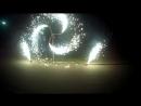 Запуск фейерверка на свадьбе CAFE KONTINENT 16.09.17
