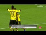 Чемпионат Германии 2016-17 / Лучшие голы 19-го тура / Топ-5 [HD 720p]