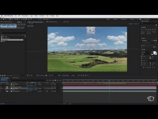 Sky Replacement and 3D TEXT Motion Tracking Tutorial - Adobe After Effects CC