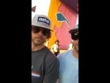 """Эрик Кристиан Олсен на фестивале """"Coachella 2017"""""""