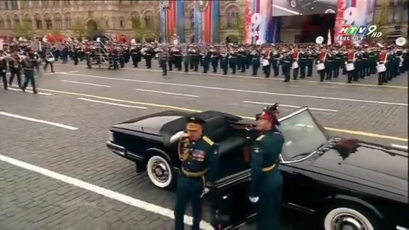 Lễ duyệt binh Ngày Chiến thắng 95 của Nga tại Quảng trường Đỏ, Moscow Liên bang Nga Kỷ niệm 72 năm Ngày chiến thắng phát xít 🏁
