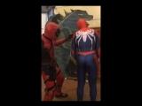Deadpool and Spider-Man Fenix 2017