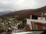 На крыше здания Газпром в Эсто - Садок