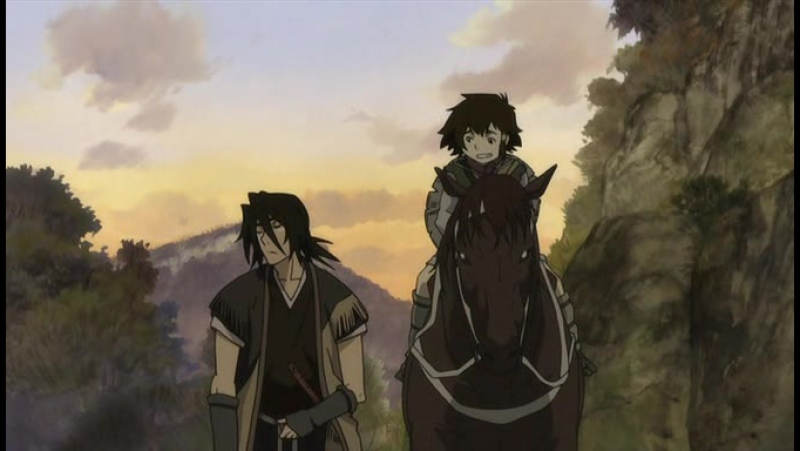 El samurái sin nombre (Stranger: Mukoh Hadan) (Sword of the Stranger) (2007)