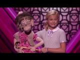Девочка-чревовещатель вновь покорила зал на шоу талантов