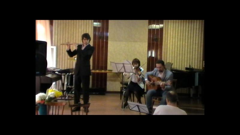 Guy Bergeron Augustos выпускной экзамен флейта 23.05.2016
