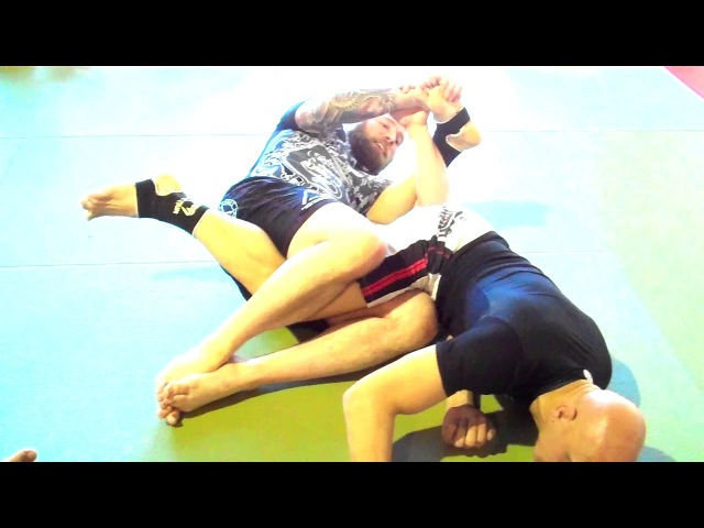 Toe Hold, Heel Hook, and Calf Slicer Attack System