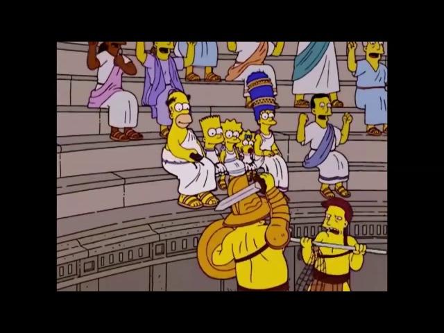 Диванные заставки «Симпсонов»