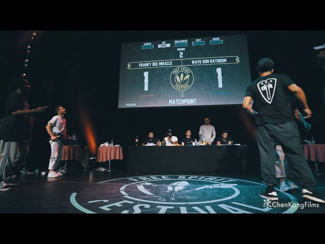 FSF 2017 Championship Miracle Franky Dee vs Rayboom Wave Son Hip Hop - 1/2 Final