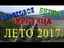 БЕРЕГОВОЕ КРИНИЦА БЕТТА ЛЕТО 2017