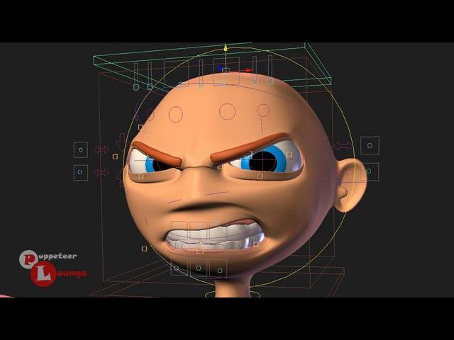 Cartoony Facial Rig ~ Danny