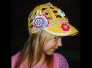 Цветочная кепка крючком Часть 1/ Вязание для начинающих/ Crochet hat