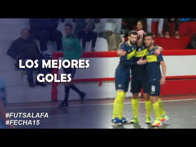 FutsalAFA Fecha15 Mirá los mejores goles