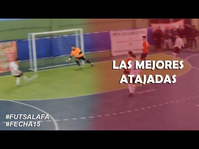 FutsalAFA Fecha15 Mirá las mejores Atajadas