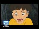 Анимационный фильм Рыбка Поньо на утёсе на Канале Disney