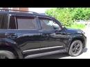 Защитные автошторки Trokot на Toyota Land Cruiser 200