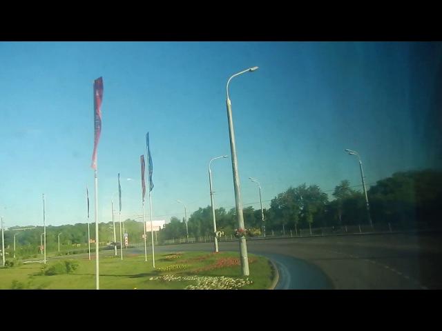 Дорога на Казань и по улицам Казани