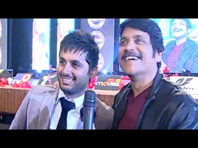 Nagarjuna Super Comedy With Nithin - Chinnadana Neekosam Audio Launch