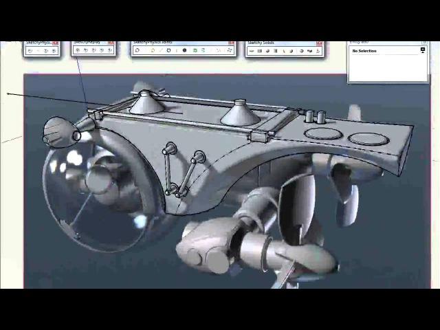 Speed Modeling Battle 1 (SketchUp)