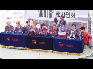 170120 NCT 127 팬사인회 클로징 퇴장 직캠 @영등포 타임스퀘어 4K Fancam by -wA-