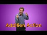 Addition Song for kids  Addition Facts  Addition Action  Jack Hartmann