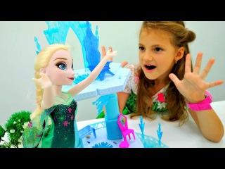 Игры одевалки ? БАЛ для Эльзы #ХолодноеСердце и #Барби ? Видео #куклы для девоч ...