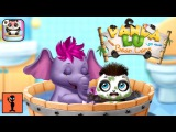 Игры для Андроид Обзор Игры - Panda Lu Baby Bear Care 2 - Babysitting &amp Daycare Веселые Детские Видео Развивающие Игры для Детей