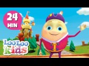 Humpty Dumpty - THE BEST Nursery Rhymes and Songs for Children | LooLoo Kids