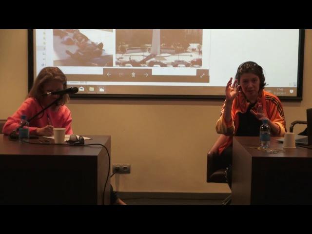 Artist talk 1: Alexandra Pirici and Joanna Warsza Art in public spaces