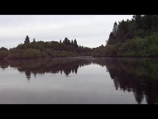 Путешествие на лодке к стрелке Монза - Костромка. Местосилы Ферапонт