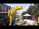 КУН Погрузчик фронтальный ПФ-08-1 LEX «Super» с ковшом 0,8 куб. м на тракторе Беларус