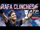 Nadal Clinches 2017 Year End No. 1 Emirates ATP Ranking