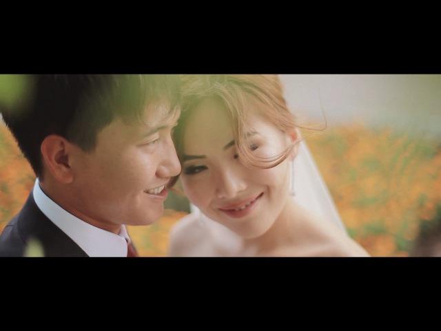 Свадьба в Калмыкии Виталий и Светлана Яркие и молодые