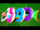 Funny Kids Pretty Mermaid! Giant Candy for Kids Family Fun