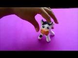 Como hacer una vaca en porcelanicron